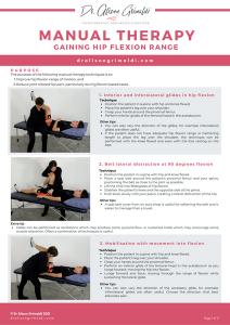 Clinician Resource - Manual Therapy - Gaining Hip Flexion Range_Thumbnail